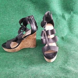 These are black Steve Madden. Size 8